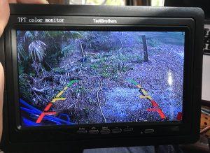 Monitor View Tadi Brothers Rear View Camera