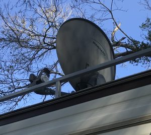 mounted travler dish directv